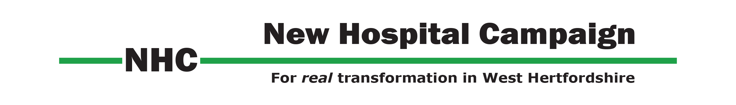 New Hospital Campaign for West Hertfordshire