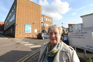 Edith Glatter of Dacorum Hospital Action Group